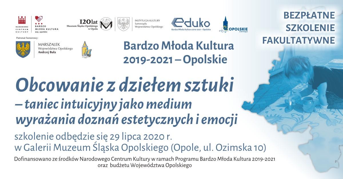 [06-2020] BMK 2020 - szkolenia fakultatywne - Obcowanie ze sztuką