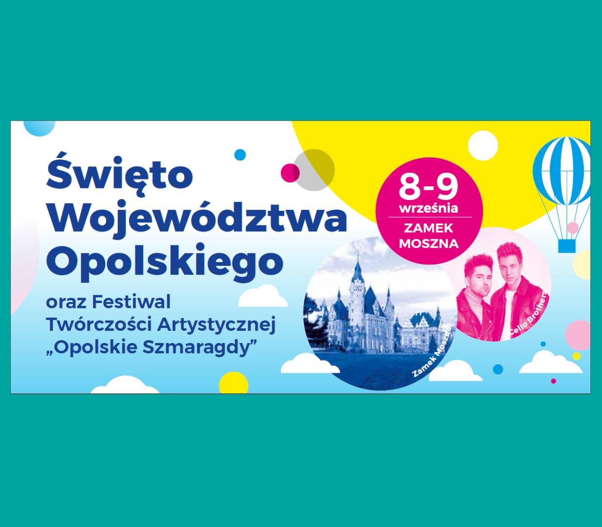 Święto Województwa Opolskiego - zaproszenie